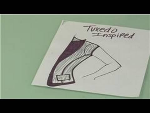 Fashion Design & Vests : Tuxedo Vests in Fashion Design