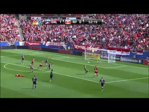 HIGHLIGHTS: FC Dallas vs New York Red Bulls, March 11, 2012