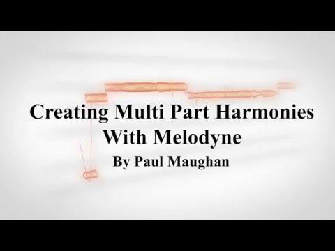 Creating Multi Part Vocal Harmonies Using Melodyne