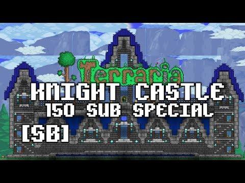 SPEEDBUILD] Terraria - Knight Castle [ 150 SUB Special