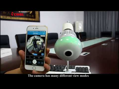 EC9 Bulb IP Camera Operation Video Guide