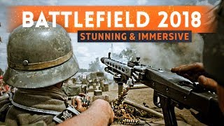 """► BATTLEFIELD 2018 IS """"VISUALLY STUNNING"""" & """"DEEPLY IMMERSIVE"""" Says EA CEO (Next Battlefield Game)"""