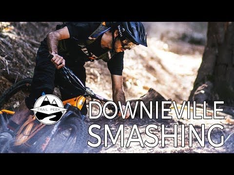 29ers Smashing Downieville in February - Big Boulder and Third Divide - Mountain Biking Downieville