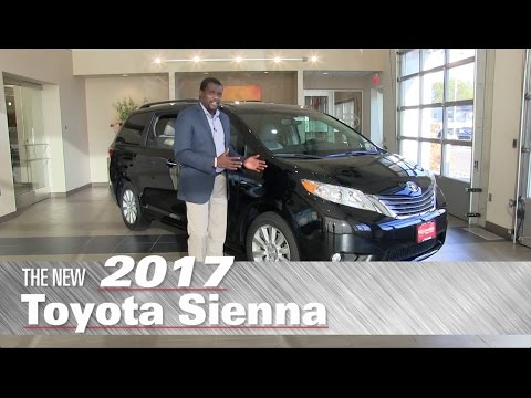 The New 2017 Toyota Sienna XLE - Minneapolis, St Paul, Brooklyn Center, MN - Review