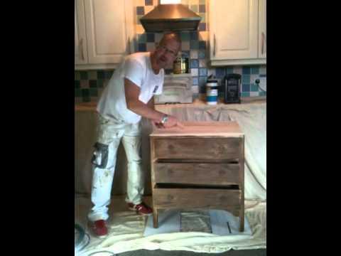 refinishing furniture pt1