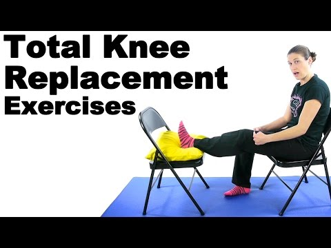 Total Knee Replacement Exercises - Ask Doctor Jo