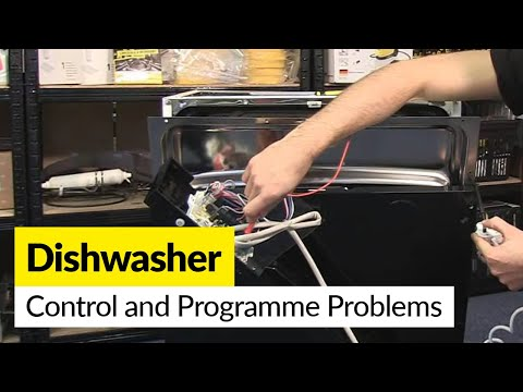 How to Diagnose Control and Programme Problems with a Dishwasher