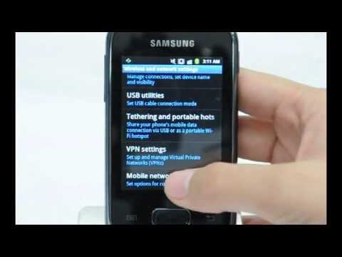 Samsung Galaxy Pocket: Turn off / on data roaming