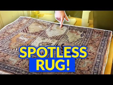 How to Clean a Mercerised Cotton Rug at Home