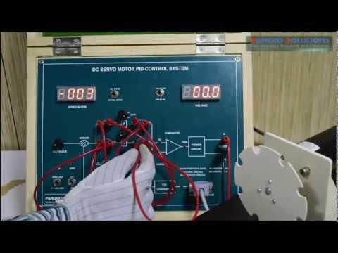 Speed Control of DC Servo Motor using PI Controller