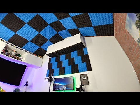 ArrowZoom: My best setup for sound proofing my office studio!