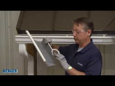 Installing Downspout Outlets by Berger