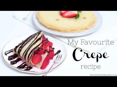 Vegan and Gluten Free Crepe Pancake Recipe