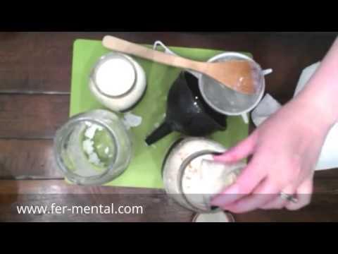 Milk Kefir Part 3 - Flavoring and Grain Prep