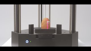 The first All in one 3D printer (3D printing, laser engraving, and 3D scanning)