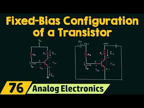Fixed-Bias Configuration of a Transistor