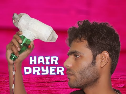 How To Make Hair Dryer At Home