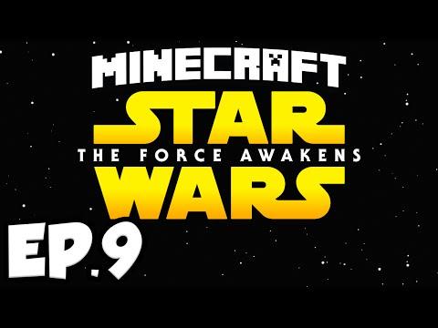 Star Wars: The Force Awakens Ep.9 - LIGHTSABER!!! (Minecraft Modded Survival)