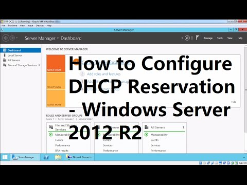 4. How to Configure DHCP Reservation - Windows Server 2012 R2