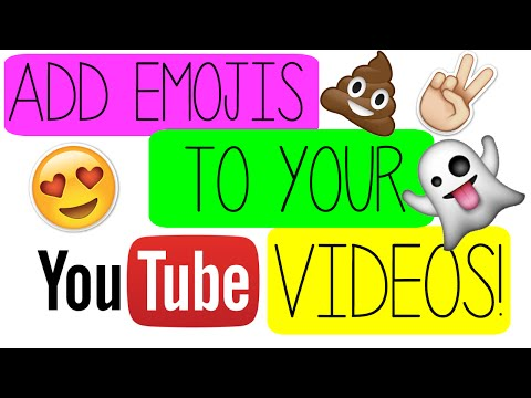 How to add Emojis to videos (iMovie)