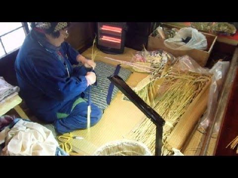 Making Japanese Straw Sandals