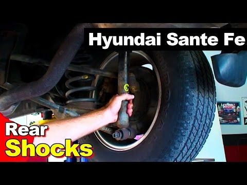 2001-2005 Hyundai Santa Fe Noise From Failed Shocks