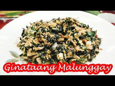 GINATAANG MALUNGGAY WITH ALAMANG!!!