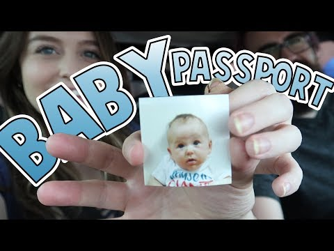 Applied For Her Passport | Family Baby Vlogs
