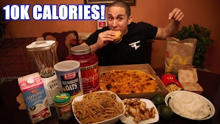 10,000 CALORIES IN A DAY!