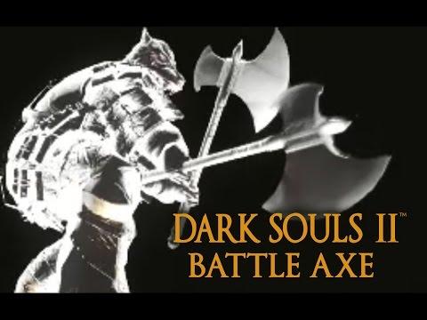 Dark Souls 2 Battle Axe Tutorial (dual wielding w/ power stance)