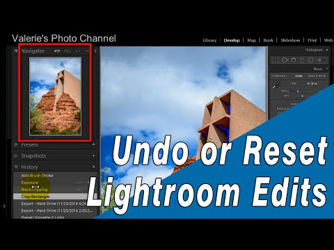 How to Undo or Reset Your Lightroom Develop Edits