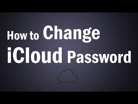 How To Change Your iCloud Password   How To Change Apple ID Password