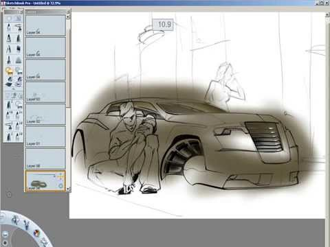 SketchBook Pro Sketch
