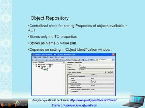 QTP Training - Course Overview - Quality Testing.flv