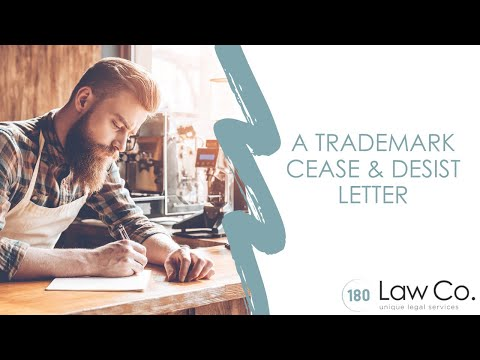 A Trademark Cease & Desist Letter - All Up In Yo' Business