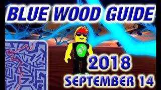 Lumber Tycoon 2 Blue Wood Maze Road Map 2 September 2018