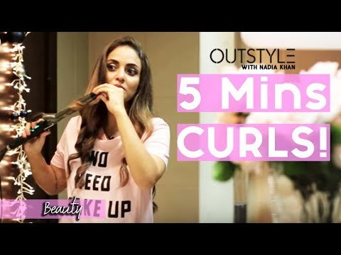 Life Hacks | Easy Tips to Curl Your Hair | Long Hair Tutorial Nadia Khan | Outstyle.com