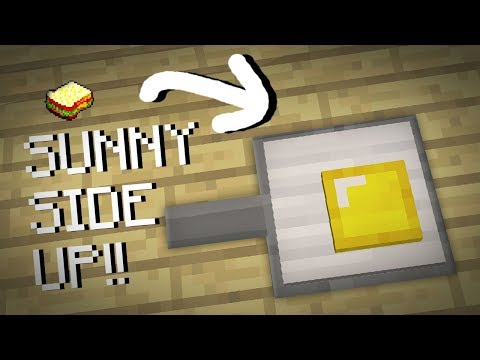 Minecraft | How to make an Egg in a pan