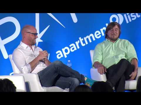 iCracked co-founder and CEO AJ Forsythe speaks at SPARK 2016