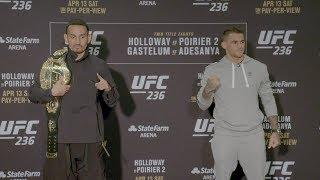 UFC 236: Media Day Faceoffs