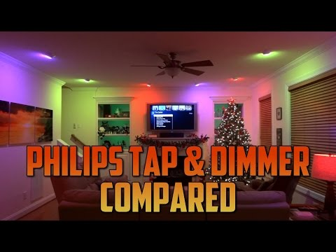 Philips Hue Tap And Dimmer Switch Compared