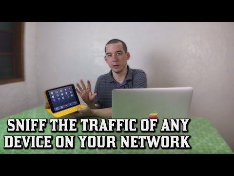 Sniff the traffic of any device on your network