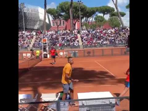 Xxx Mp4 Nick Kyrgios Crazy Reaction And Default In Rome 2019 3gp Sex