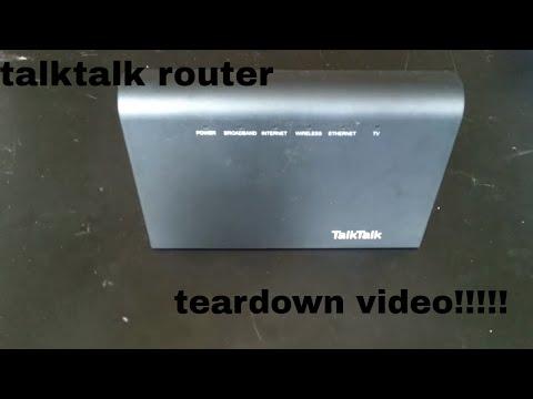 talktalk router 2017 teardown