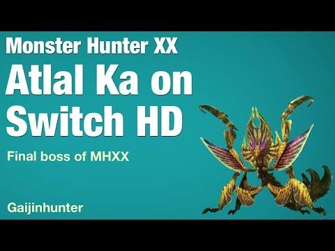 Monster Hunter XX: Atlal Ka on Switch HD