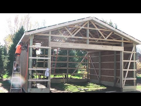 DIY Pole Barns Shed/Garage Construction LP SmartSide