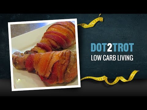 Low Carb Decadence: Bacon Wrapped Chicken Drumsticks