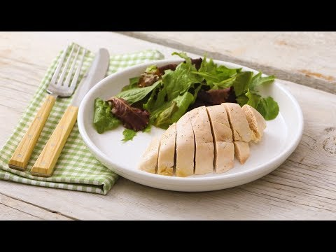 Poached Chicken Breasts- Martha Stewart