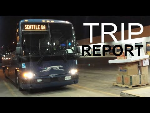Trip Report: Greyhound Bus Lines - Metro Vancouver, BC to Seattle, WA