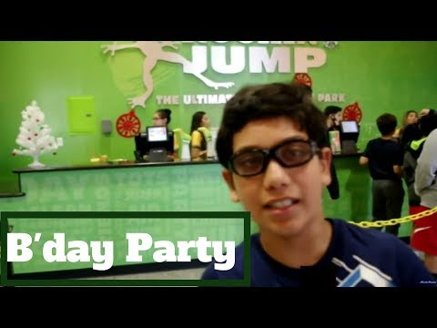 The most awesome birthday party at Rockin Jump (Trampoline park)  with 1DoctorGenius